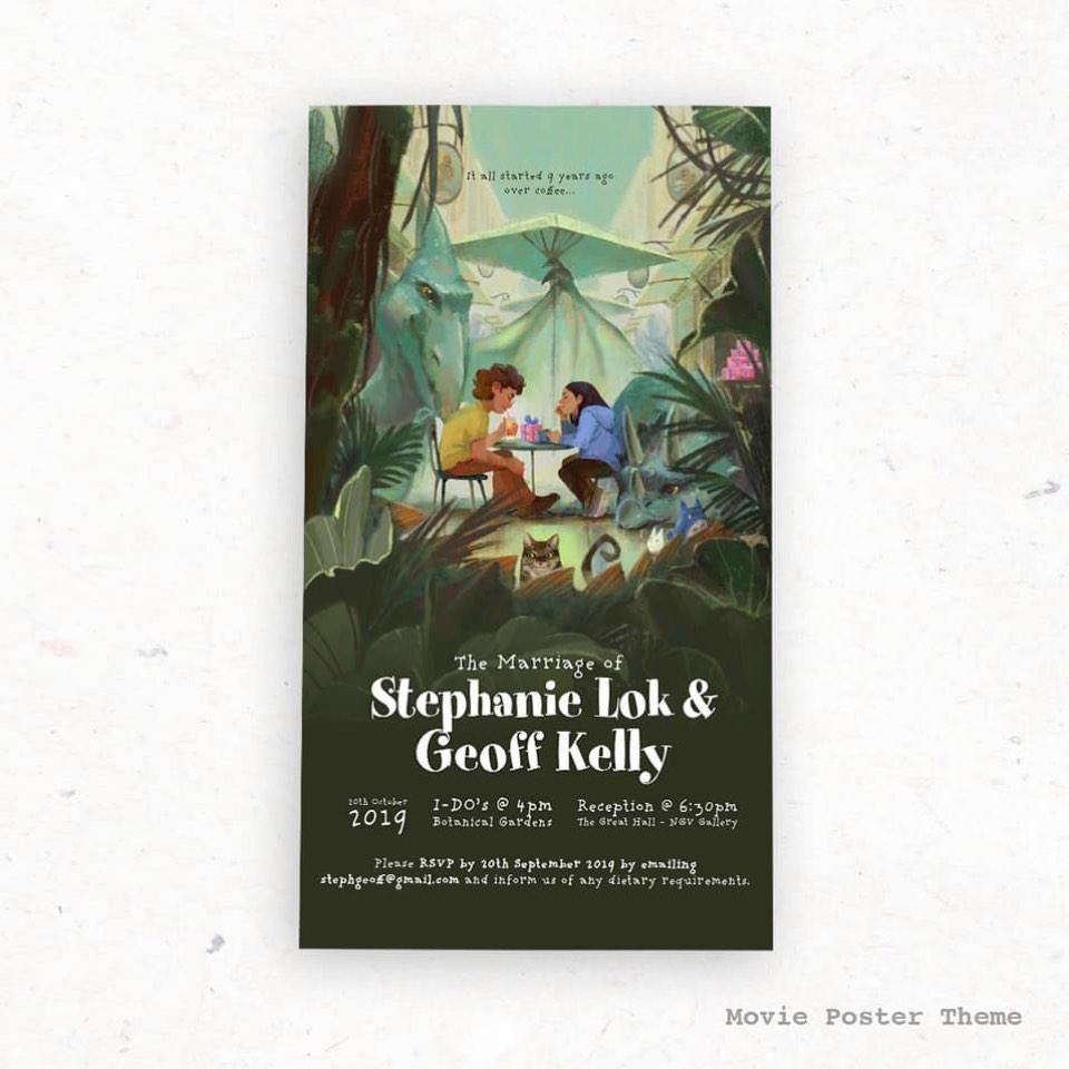 Steph & Geoff's Invites